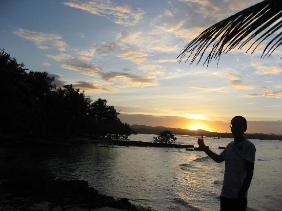 Sagana Resort: 夕日がきれい