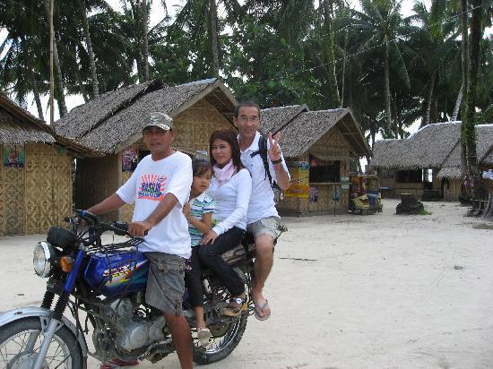 Sagana Resort: バイクでの移動