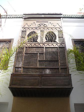 Riad Nerja: Suite sultana desde el patio