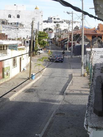 Hoya Del Mar: Streetview from hotel