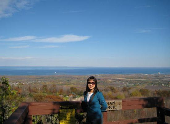 "Scenic Caves Nature Adventures: Scenic Caves ""Indians Council Lookout Point""."