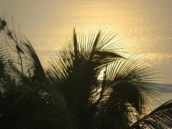Hotel Seagull: Sunrise from room verandah