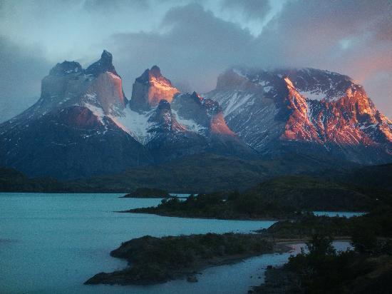 Explora Patagonia - All Inclusive : Macizo Paine view from Explora Salto Chico