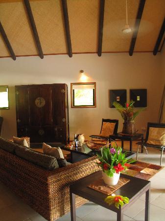 Qamea Resort And Spa Fiji: Inside our Bure