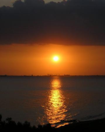 view from Elias Beach Hotel, Limassol, Cyprus
