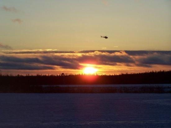 Stony Rapids, Kanada: Sunrise