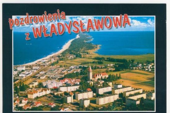 Wladyslawowo, Polen: Postkarte