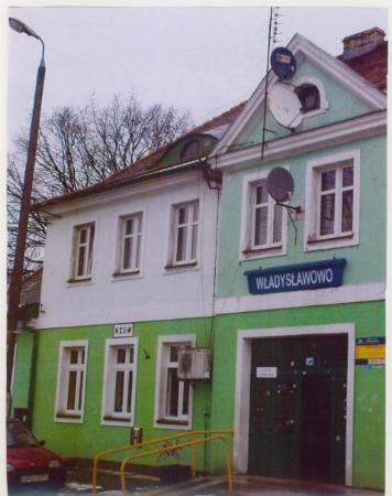 Wladyslawowo, Polen: Bahnhof