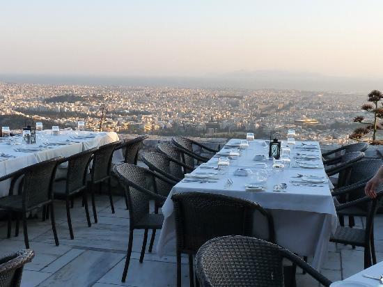 Lykavittos Hill Restaurant
