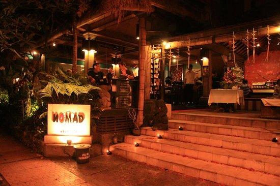 Nomad Restaurant Ubud Bali
