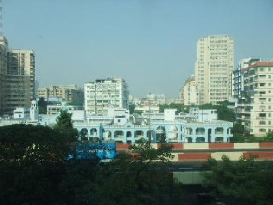 Hotel Hindusthan International Kolkata: 部屋からの眺望