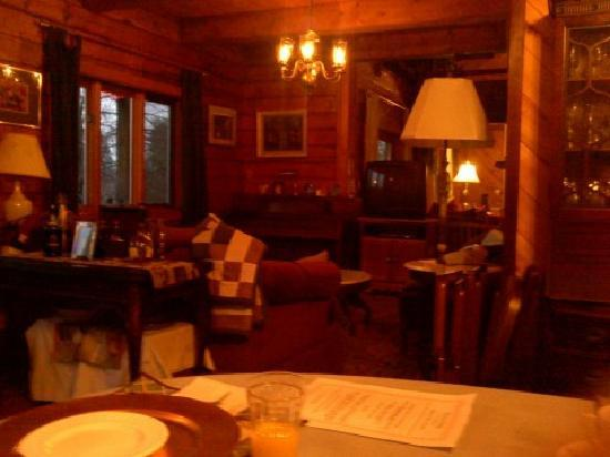 Lena's Lodge: view from table