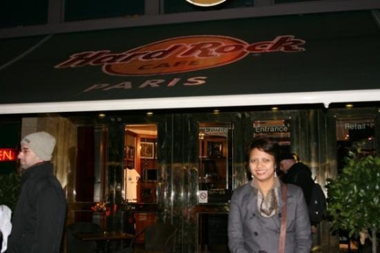 Bilde fra Hard Rock Cafe Paris