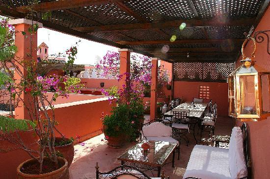 Ryad Najda : terrasse intermédiaire