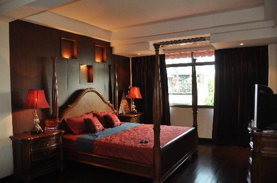 Hansaah Guest House: la chambre (au 2ème)