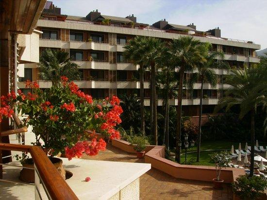 Hotel Botánico & The Oriental Spa Garden: vista desde ventana