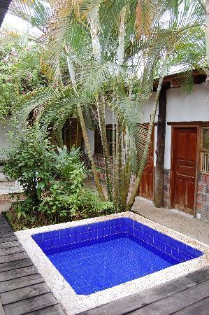 Jacuzzi En El Patio.El Patio Entre Las Malokas Picture Of Hotel Malokamazonas