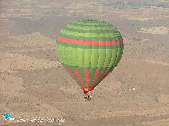 Ciel d'Afrique Hot Air Ballooning : Ciel d'Afrique, Ballooning in Marrakech's Palmeraie