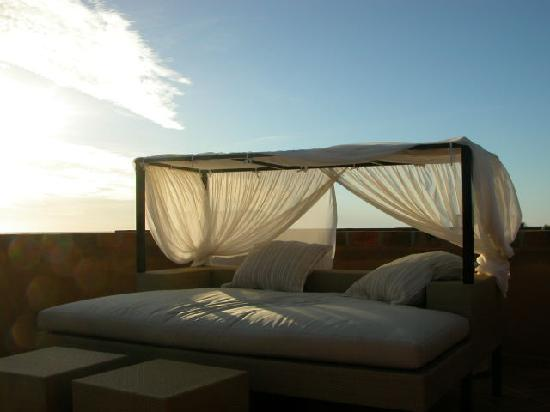 Rancho Pescadero: My private rooftop bed