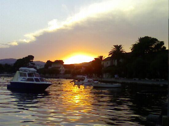 Kastel Stafilic, Croacia: Sunset
