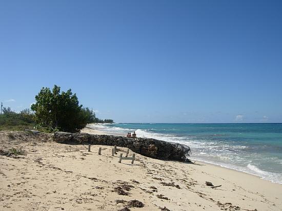 Island House Hotel : beach on Grand Turk