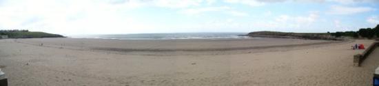 Barry beach panorama 2