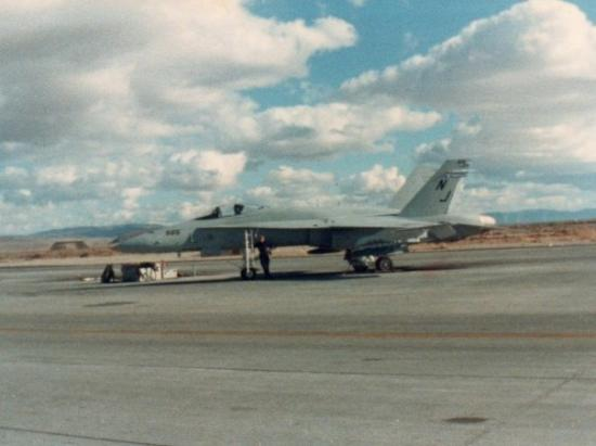 NAS Fallon, NV - where Top Gun aeronautics was filmed