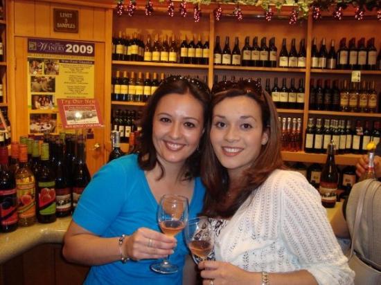 San Antonio Winery - Los Angeles: Wine + good company =having a blast!