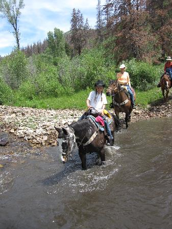 Granby, CO: creek crossing