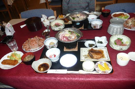 Esashi-cho, Japon : ~夕食こんな感じです~