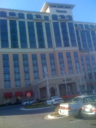 The Westin Huntsville: Hotel Front
