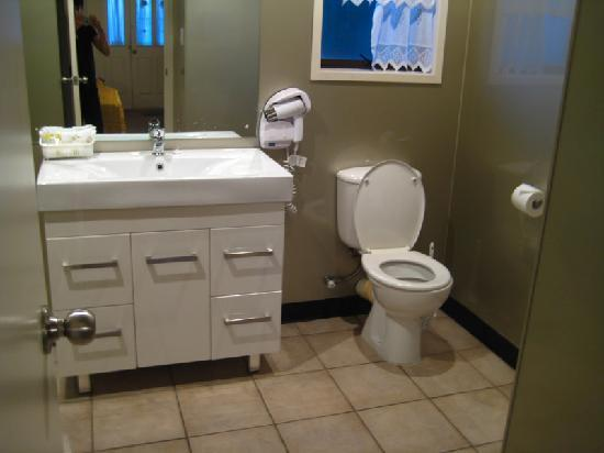Airport Manor Inn: Washroom
