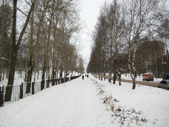 Kirov, Russia: Surikov Street