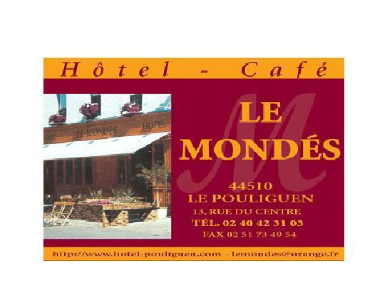 Hotel le Mondes : LE MONDES