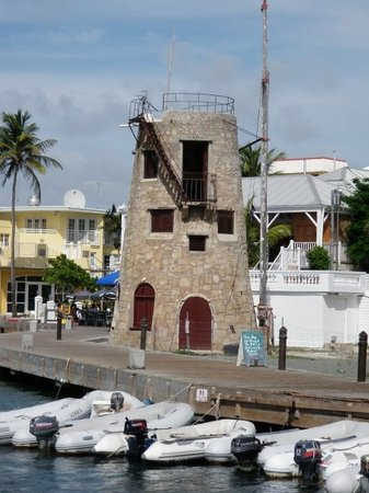 Christiansted, Saint Croix: Sugar plantation windmill, they were everywhere!