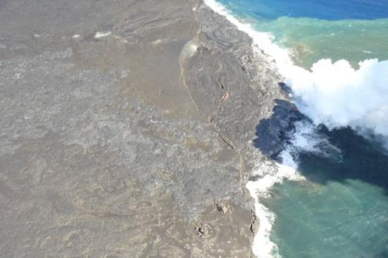 New Land Being Formed Picture Of Volcano Island Of