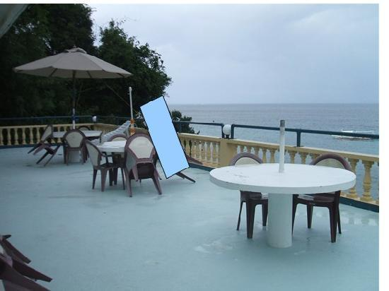 Campbell's Beach Resort: Penthouse Terrace view