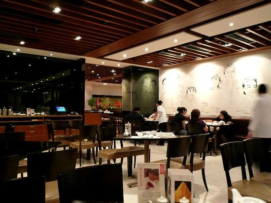 Din Tai Fung (Shanghai New World): 店内1