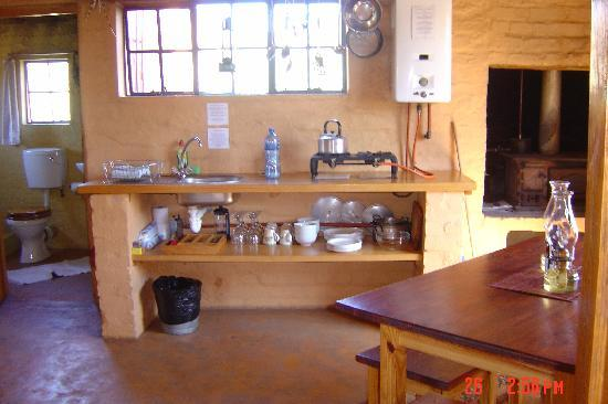 Simonskloof: The kitchen facilities