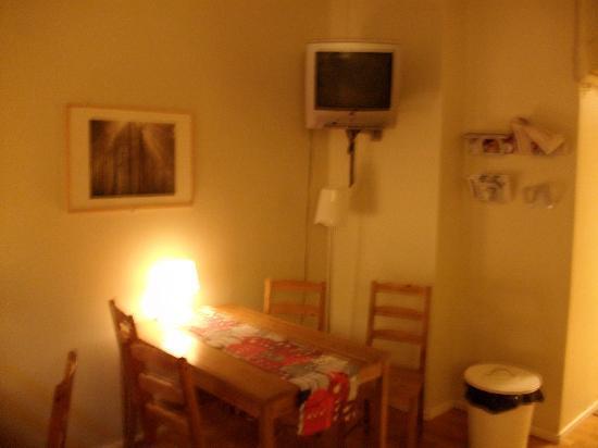 City Hostel: la salle détente