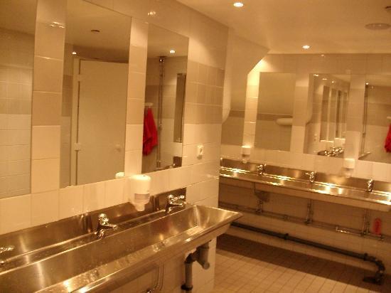 City Hostel: les toilettes