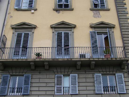 Residenza Vespucci: Our room with the balcony.