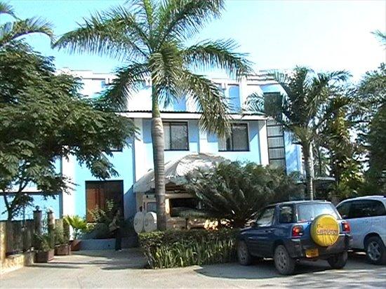 Palm Beach Hotel: Facciata
