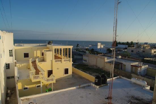 Progreso Beach Hotel: Vue depuis la chambre