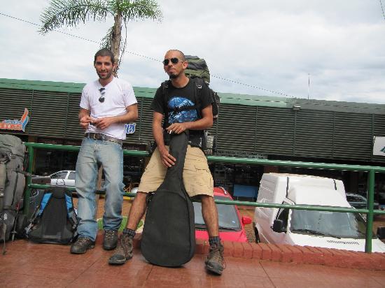 Hostel Irupe: el dia que llegamos