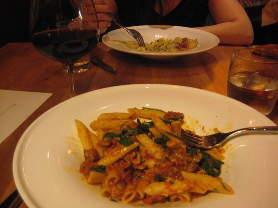 Jackson's Bar and Oven: Penne Pasta