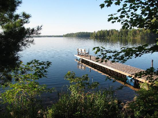 Big Lake Wilderness Lodge: View from dock