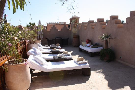 Riad Flam : rooftop