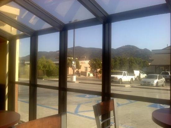 The view from Burger King in Buellton - not too shabby