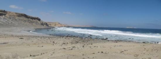 Copiapó, Chile: Panorámica de una playa que no recuerdo el nombre, pero es parte de la ruta patrimonial.
